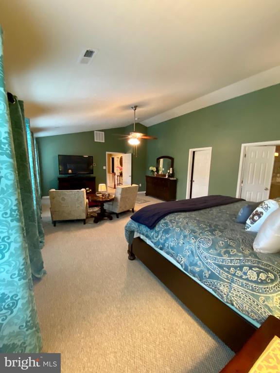 Master bedroom - 3545 GROUSE POINTE DR, STAFFORD