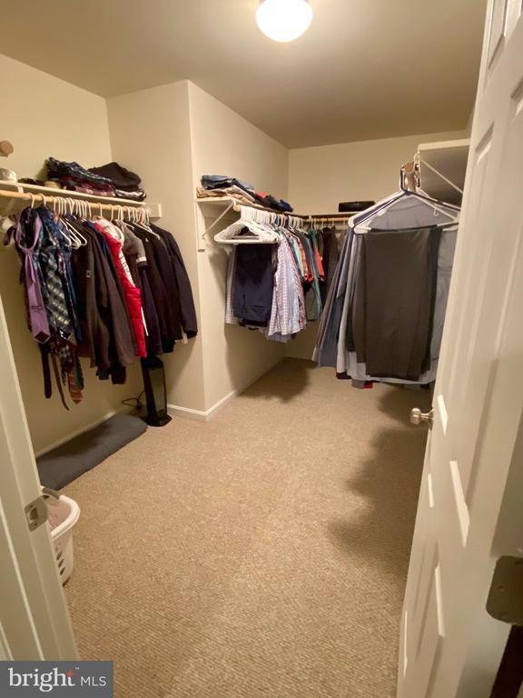 Master Walk in closet. - 3545 GROUSE POINTE DR, STAFFORD