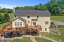 Generous deck with access from kitchen - 20634 ST LOUIS RD, PURCELLVILLE
