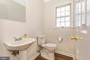 Main Level Powder Room - 105 REDHAVEN CT, THURMONT