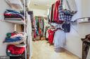 Huge Master Bedroom Closet - 1025 SCARLET LN, CULPEPER