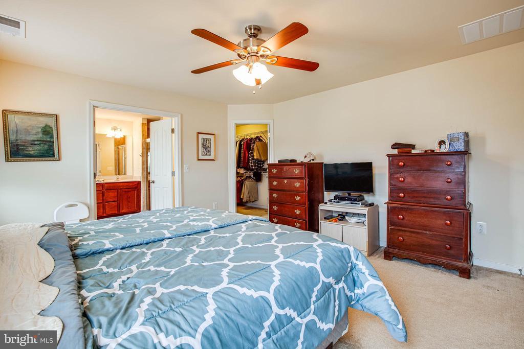 Master Bedroom - 1025 SCARLET LN, CULPEPER