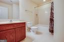 Bedroom # 2/ Private Bathroom - 1025 SCARLET LN, CULPEPER