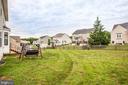 Exterior/ Rear yard - 1025 SCARLET LN, CULPEPER