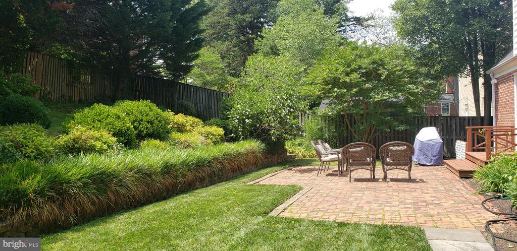 Super quiet back yard, oasis! - 2504 VALLEY DR, ALEXANDRIA