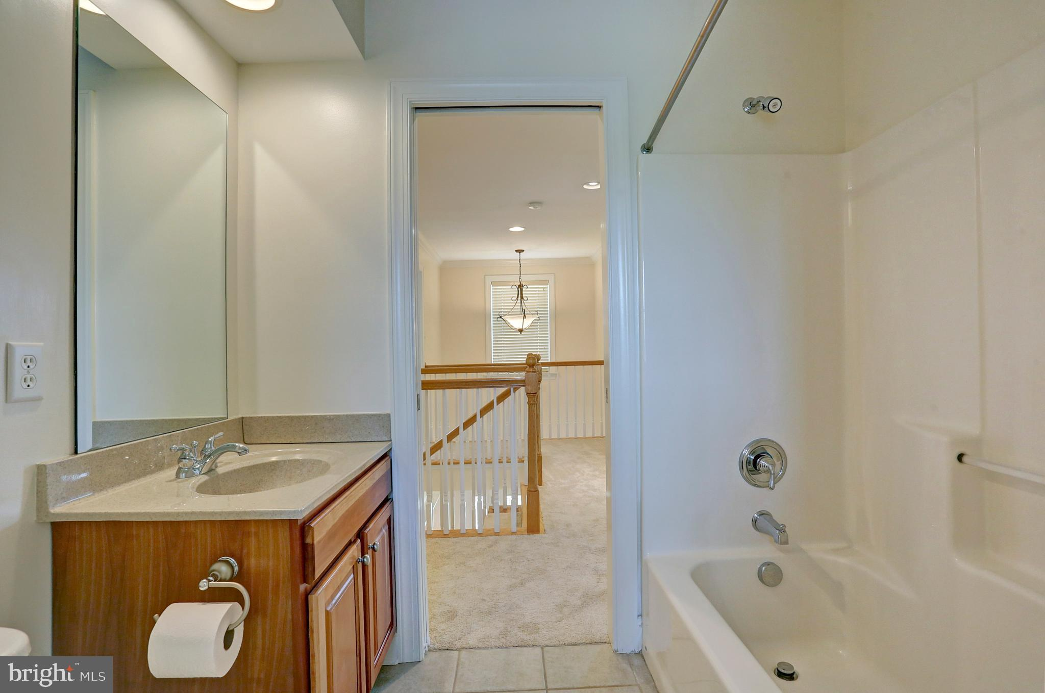 Tile Floors in the Guest Bathroom
