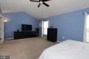 Alt view of master bedroom - 17352 TEDLER CIR, ROUND HILL