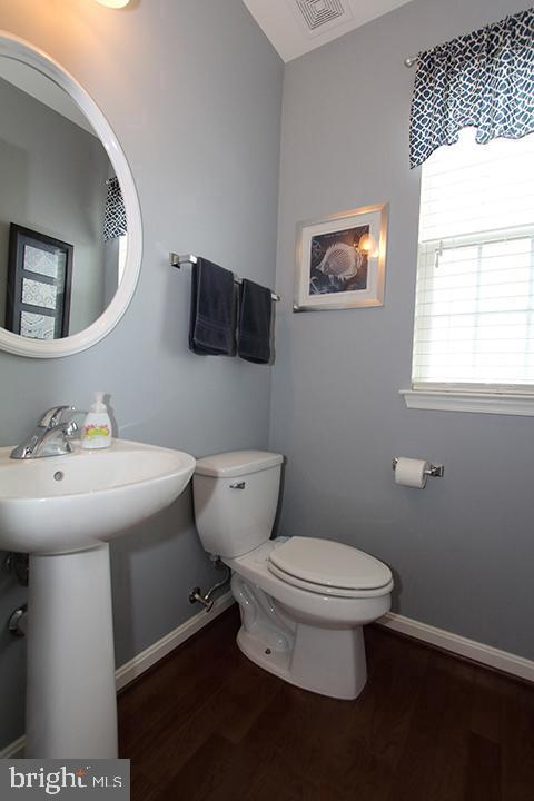 Main level powder bathroom - 17352 TEDLER CIR, ROUND HILL