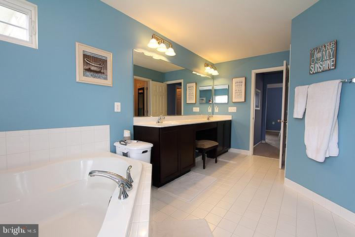 Alt view of master bathroom - 17352 TEDLER CIR, ROUND HILL