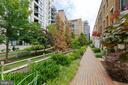 Private walkway to front of home - 1526 16TH CT N, ARLINGTON