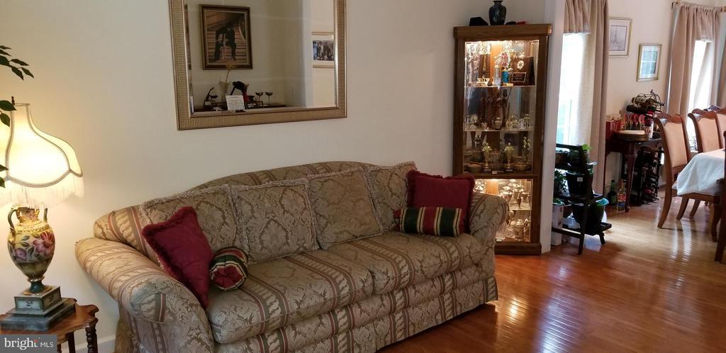 Formal Living Room opens to Dining Room - 100 EMPRESS ALEXANDRA PL, FREDERICKSBURG