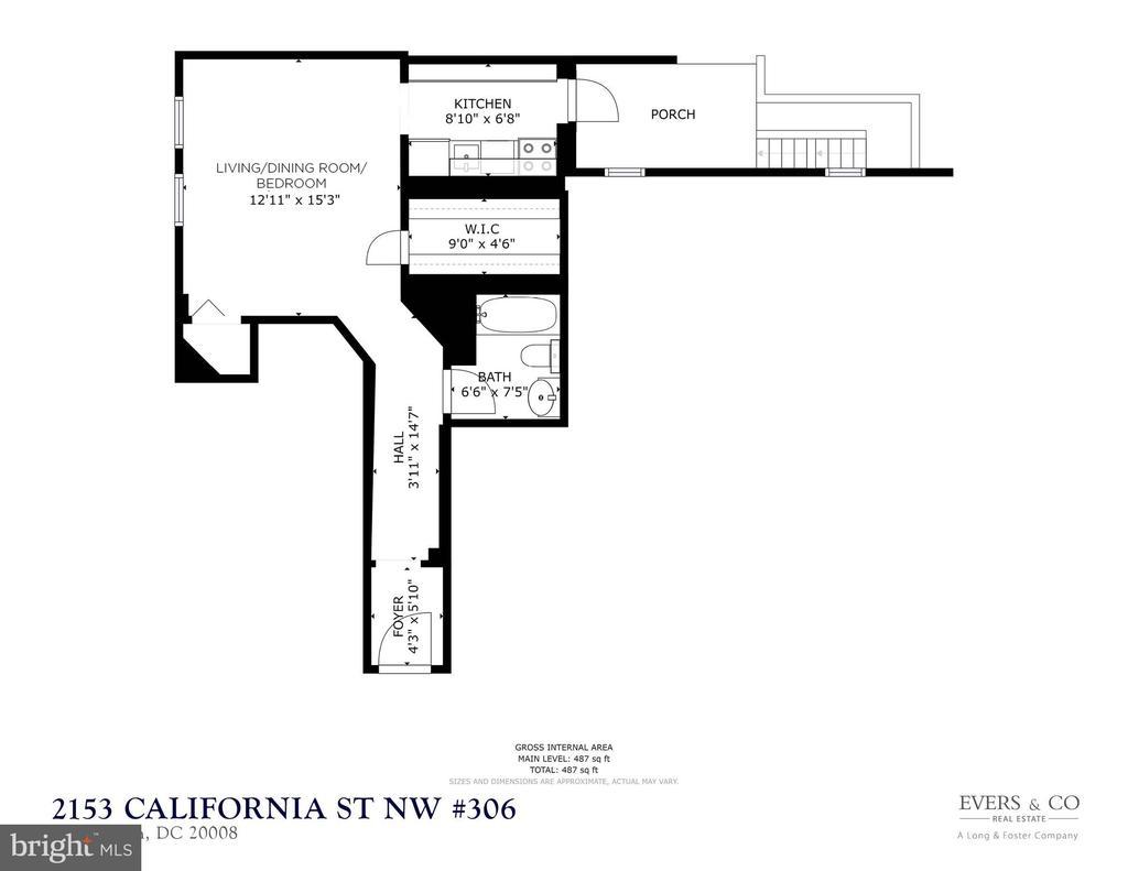 Floor plan - 2153 CALIFORNIA ST NW #306, WASHINGTON