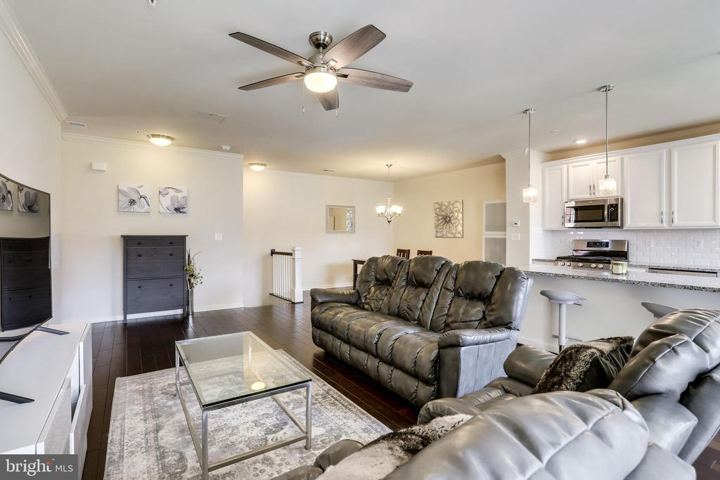 Open Concept Main Level - 23297 SOUTHDOWN MANOR TER #116, ASHBURN