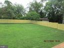 Fenced BackYard - 8416 WASHINGTON AVE, ALEXANDRIA