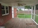 Screen Back Porch - 8416 WASHINGTON AVE, ALEXANDRIA