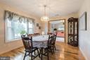 Formal dining room - 22 BALLANTRAE CT, STAFFORD