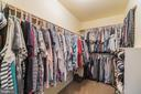 Large walk-in closet - 22 BALLANTRAE CT, STAFFORD