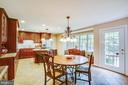 breakfast area - 8105 WATERFORD DR, SPOTSYLVANIA
