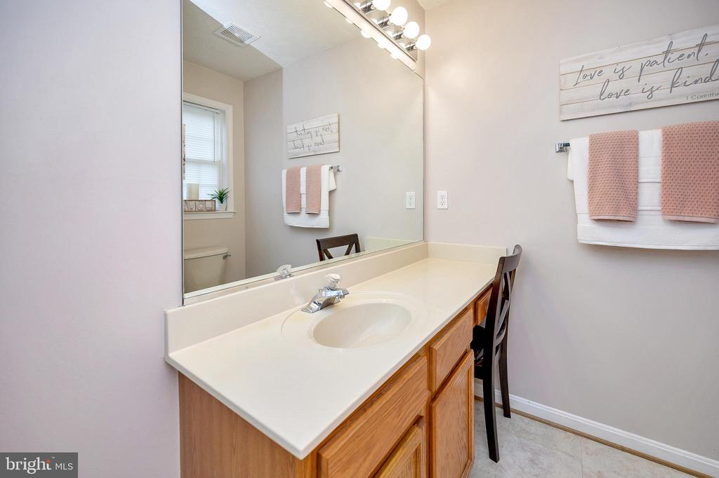 Master bath with vanity - 10109 HERIOT ROW CT, FREDERICKSBURG