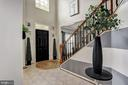 Grand Two Story Foyer - 11000 COUNTRY CLUB RD, NEW MARKET