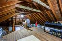 Floored walkup attic for accessible storage - 1308 BRENT ST, FREDERICKSBURG