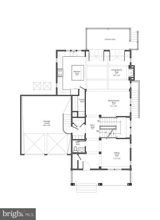 Main Level - 10400 RODNEY RD, SILVER SPRING