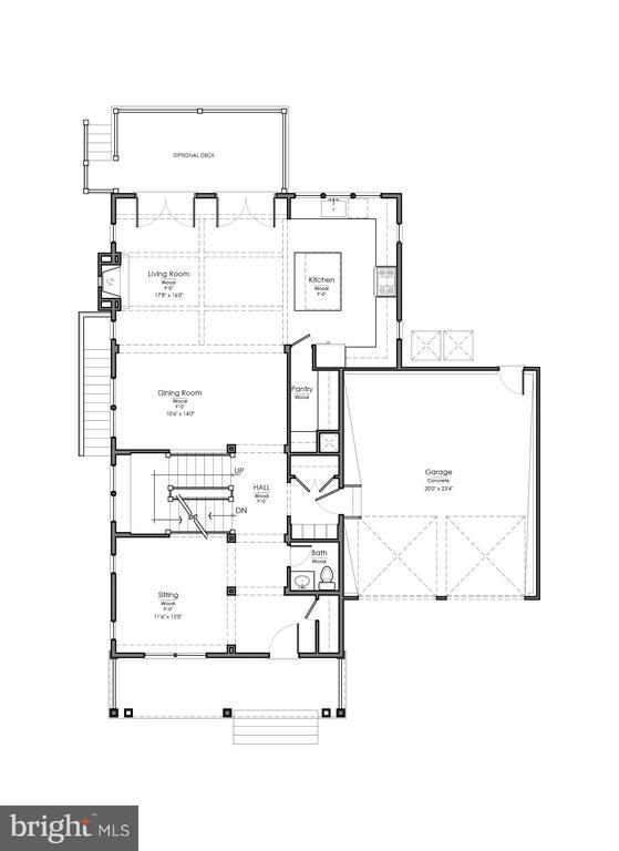 Main Level - 10402 RODNEY RD, SILVER SPRING