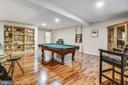 Rec Room with full sized Pool Table - 18503 PELICANS NEST WAY, LEESBURG