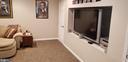 Lower level Media Room/2nd Family Room - 100 EMPRESS ALEXANDRA PL, FREDERICKSBURG