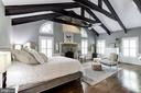 Master Suite with cathedral ceiling - 16832 OLD WATERFORD RD, PAEONIAN SPRINGS