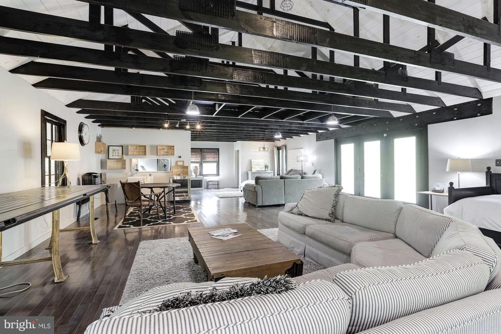 Loft style with cathedral ceiling, exposed beam - 16832 OLD WATERFORD RD, PAEONIAN SPRINGS