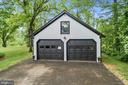Extra parking detached 2 car garage - 16832 OLD WATERFORD RD, PAEONIAN SPRINGS