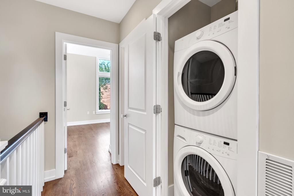 Laundry Hallway - 717 HOBART PL NW, WASHINGTON