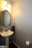 Main level powder bathroom - 20999 HONEYCREEPER PL, LEESBURG