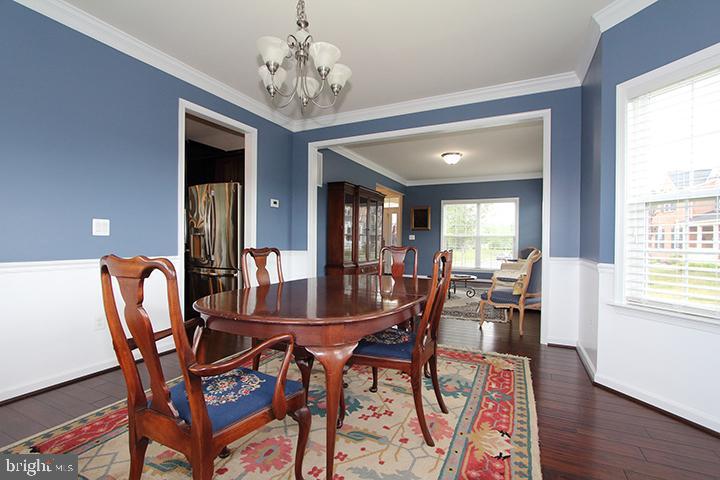 Formal dining room - 20999 HONEYCREEPER PL, LEESBURG