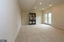 Large recreation room with walk out level - 20999 HONEYCREEPER PL, LEESBURG