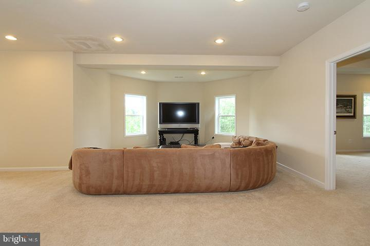 Spacious recreation room  in basement - 20999 HONEYCREEPER PL, LEESBURG