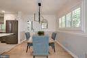plantation shutters, refinished wood floors - 3831 N ABINGDON ST, ARLINGTON