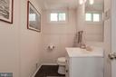 half bath off the family room - 3831 N ABINGDON ST, ARLINGTON