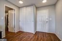 View Towards Kitchen Entry and Entry Foyer - 5902 MOUNT EAGLE DR #1406, ALEXANDRIA