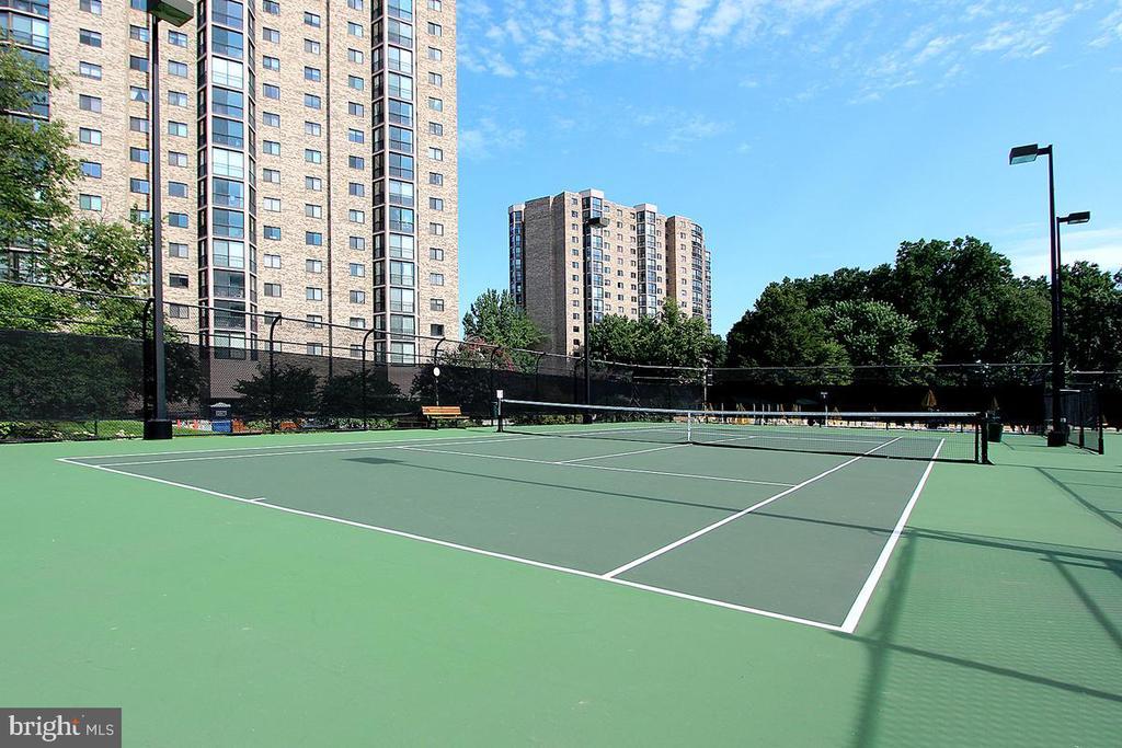 Montebello Tennis Courts! - 5902 MOUNT EAGLE DR #1406, ALEXANDRIA