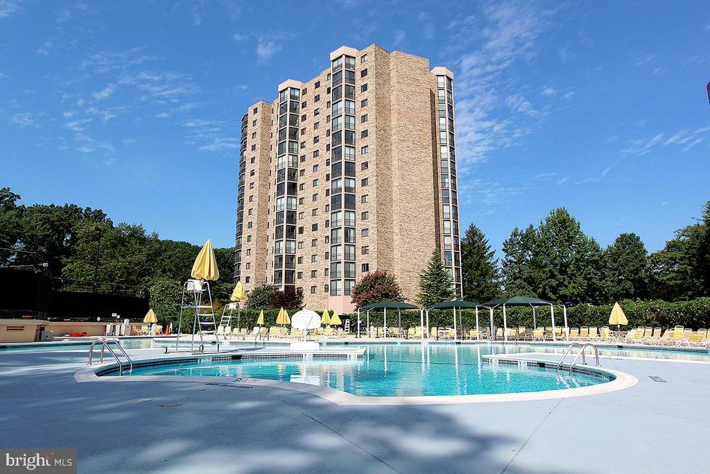 Montebello Outdoor Swimming Pool! - 5902 MOUNT EAGLE DR #1406, ALEXANDRIA