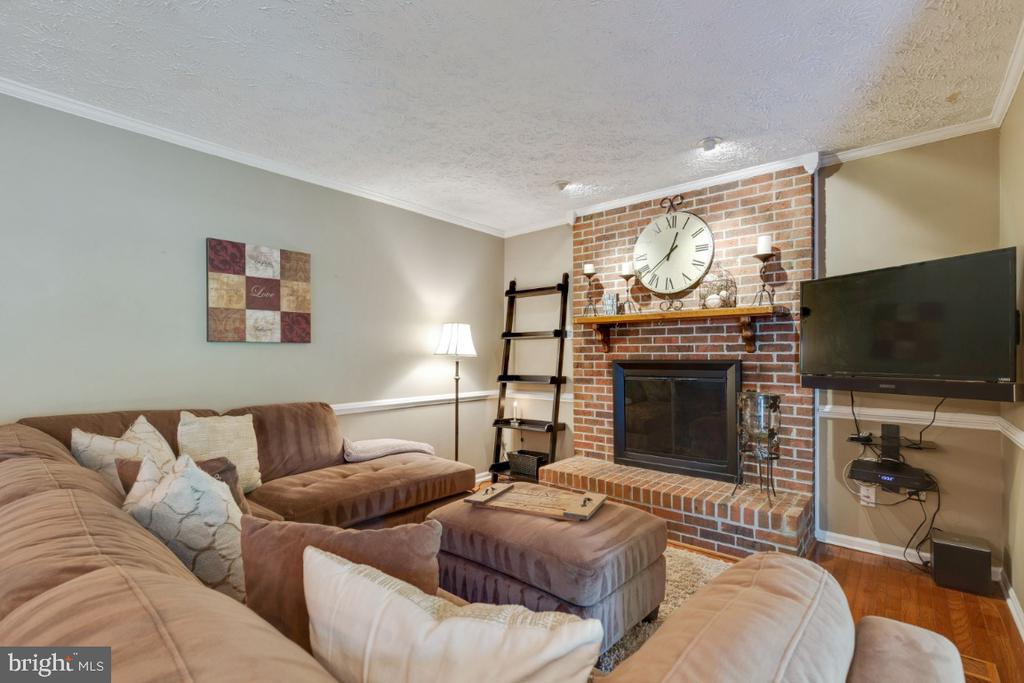 Wood Burning Fireplace - 109 N LAURA ANNE DR, STERLING