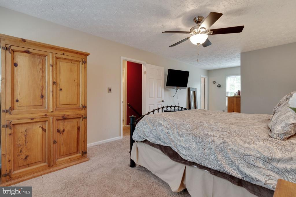 Master Bedroom with Walk-in Closet - 109 N LAURA ANNE DR, STERLING
