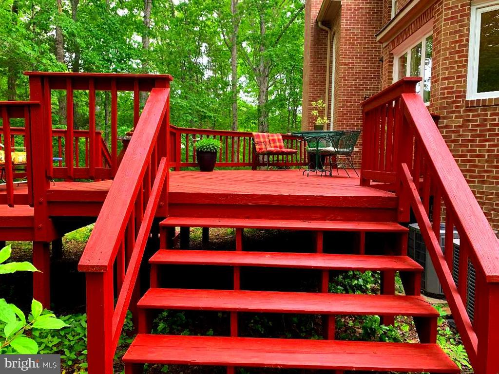 Wonderful Deck! - 12210 GLADE DR, FREDERICKSBURG