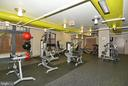 Fitness room - 1021 N GARFIELD ST #1030, ARLINGTON