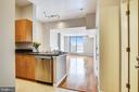 View from entry...Wow!! - 1021 N GARFIELD ST #1030, ARLINGTON