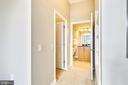 Master bedroom hall - 1021 N GARFIELD ST #1030, ARLINGTON