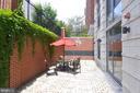 Main level patio - 1021 N GARFIELD ST #1030, ARLINGTON