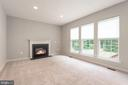 Enjoy the wooded view from your family room - 29 NEABSCO DR, FREDERICKSBURG